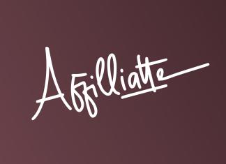 Affilliatte Handwritten Font