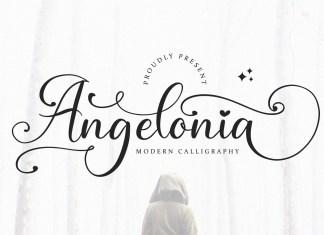 Angelonia Calligraphy Font