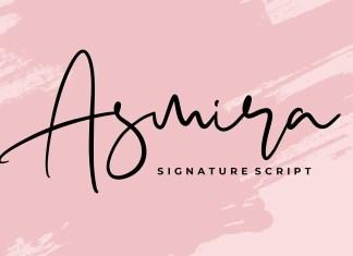 Asmira Handwritten Font