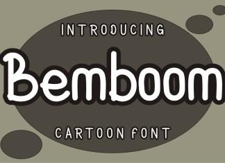 Bemboom Display Font