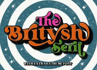 Britysh Bold Serif Font