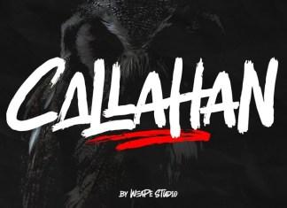 Callahan Brush Font