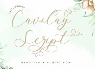 Cavilay Script Font