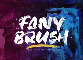 Fany Brush Font