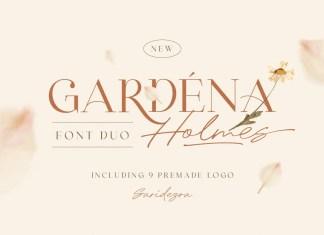 Gardena Holmes Handwritten Font