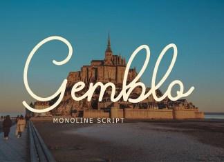 Gemblo Handwritten Font