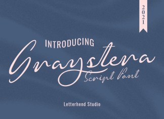 Graystera Handwritten Font
