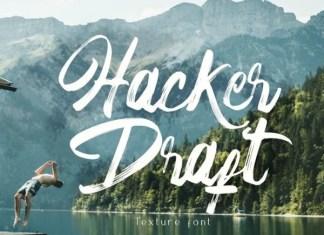 Hacker Draft Font