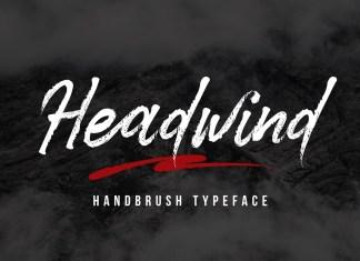 Headwind Brush Font