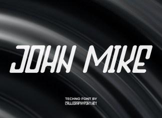 John Mike Display Font