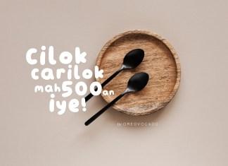 Kangcilok Display Font