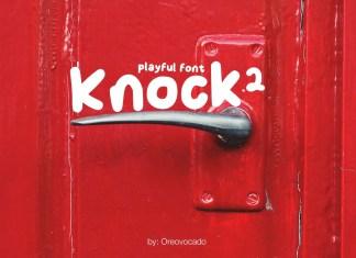Knock2 Display Font
