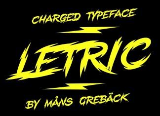 Letric Display Font