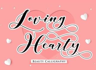 Loving Hearty Script Font
