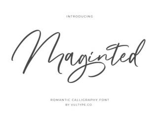 Maginted Script Font