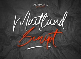 Maitland Font
