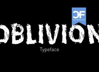 CF Oblivion Brush font