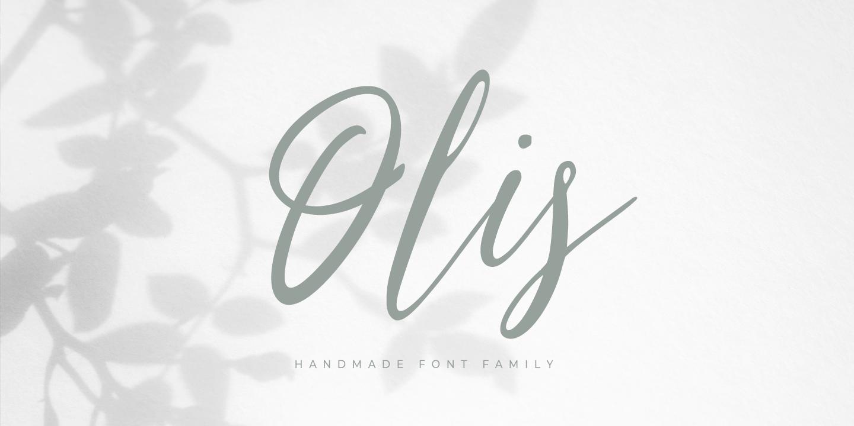 Olis Script Font