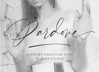 Pardone Script Font