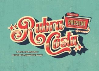 Rubra Costa Script Font