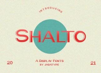Shalto Display Font