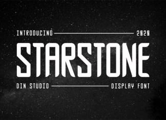 Starstone Display Font