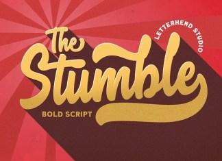 Stumble Bold Script Font
