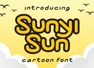 Sunyi Sun Display Font