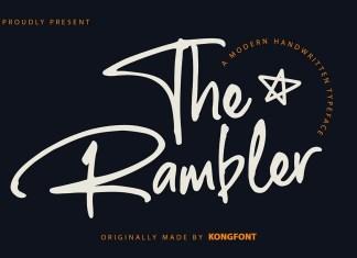 The Rambler Script Font