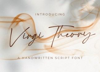 Virgi Theory Handwritten Font