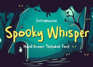 Spooky Whisper Display Font