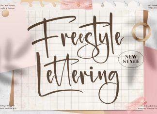 Freestyle Lettering Script Font