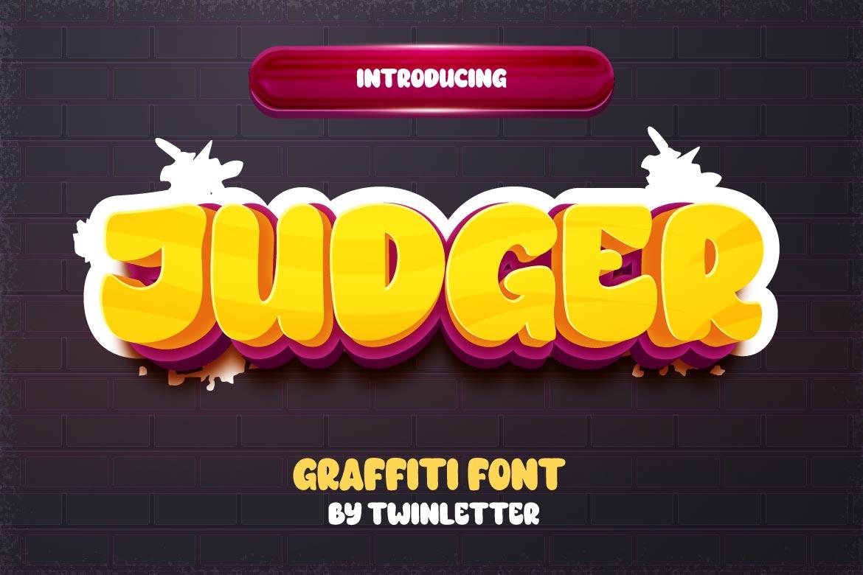 Judger Display Font
