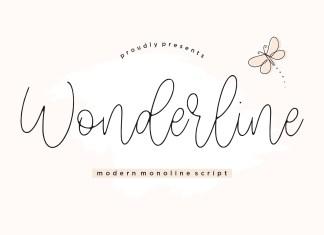 Wonderline Script Font
