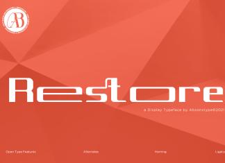 Restore Font