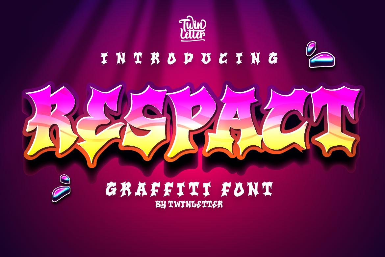 Respact Display Font