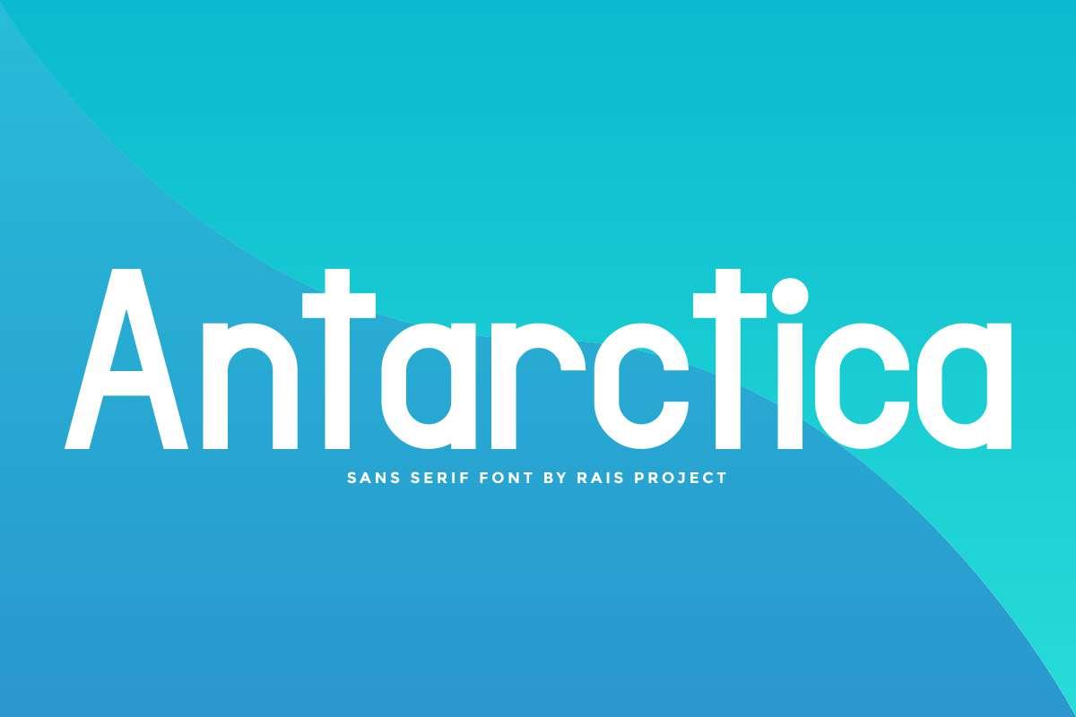 Antarctica Sans Serif Font