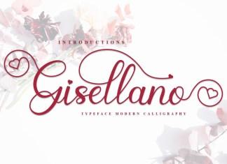 Gisellano Calligraphy Font