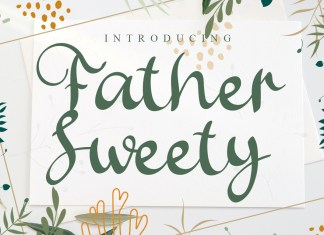 Father Sweety Script Font