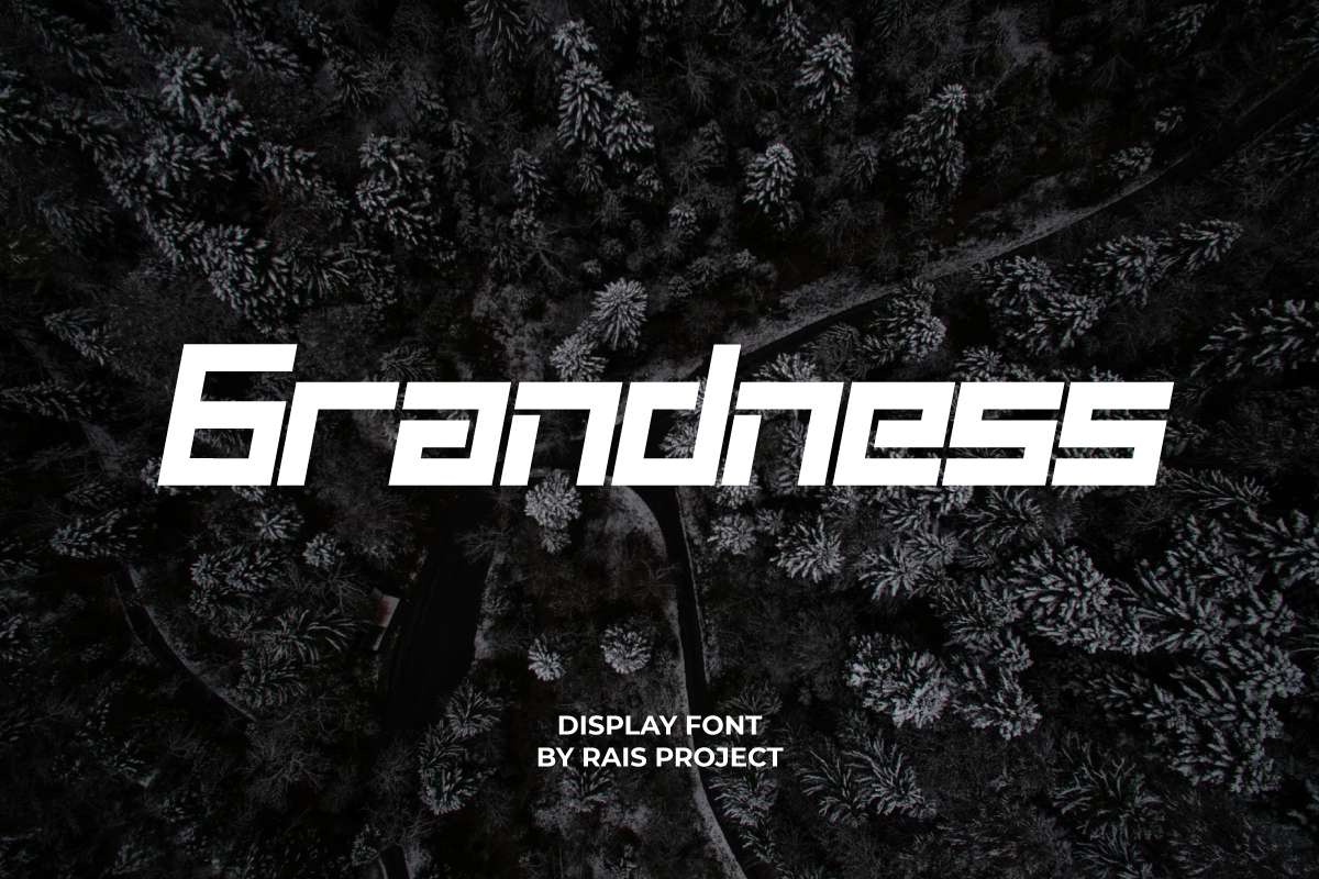 Grandness Display Font