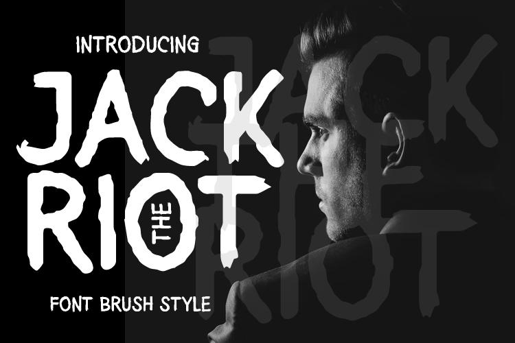 JACK THE RIOT Font