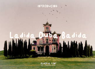 Ladida DuBa Badida Font