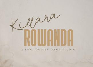 Killara Rowanda Font Duo