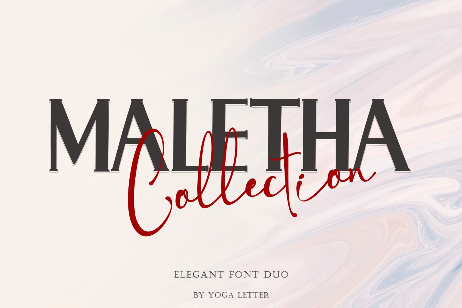 Maletha Collection Font Duo