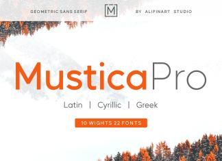 Mustica Pro Sans Serif Font