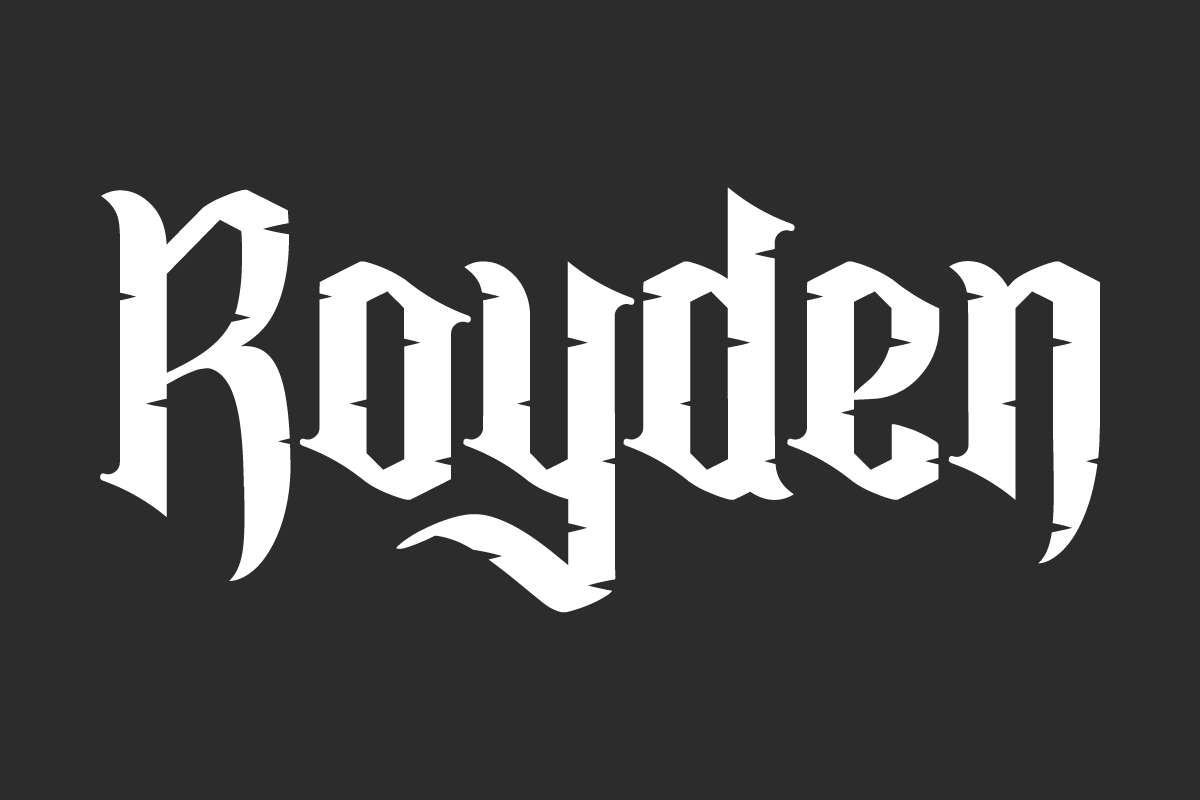 Royden Display Font