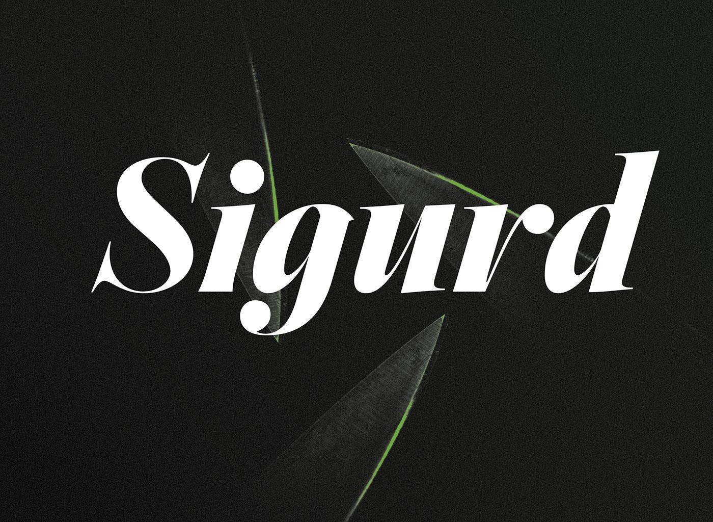 Sigurd Font