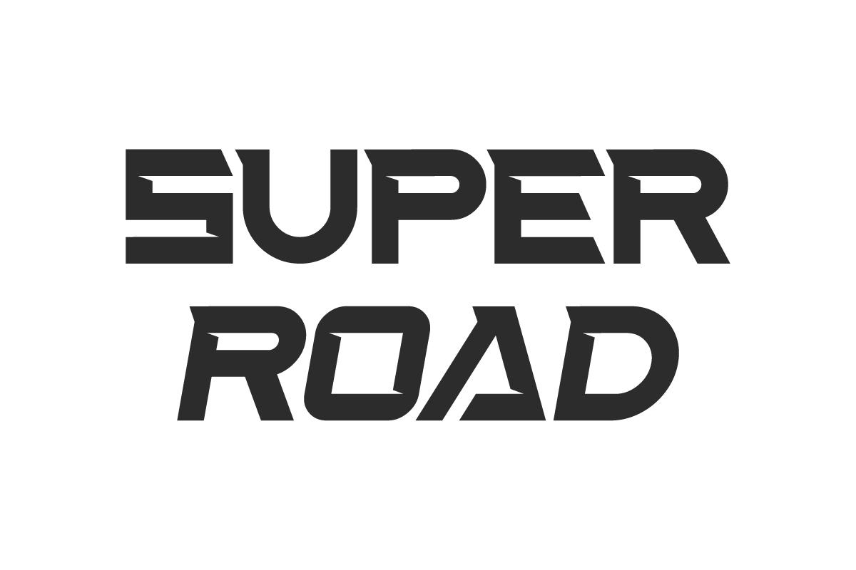 Super Road Display Font