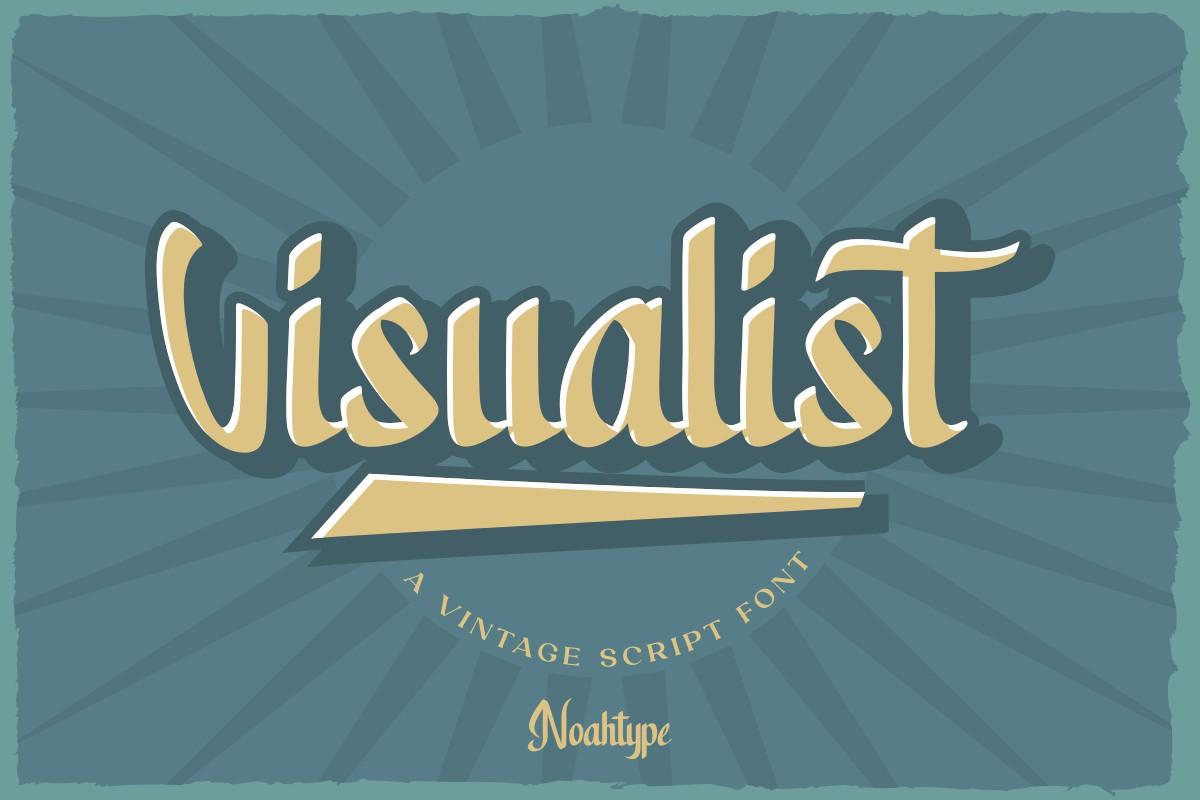 Visualist Script Font