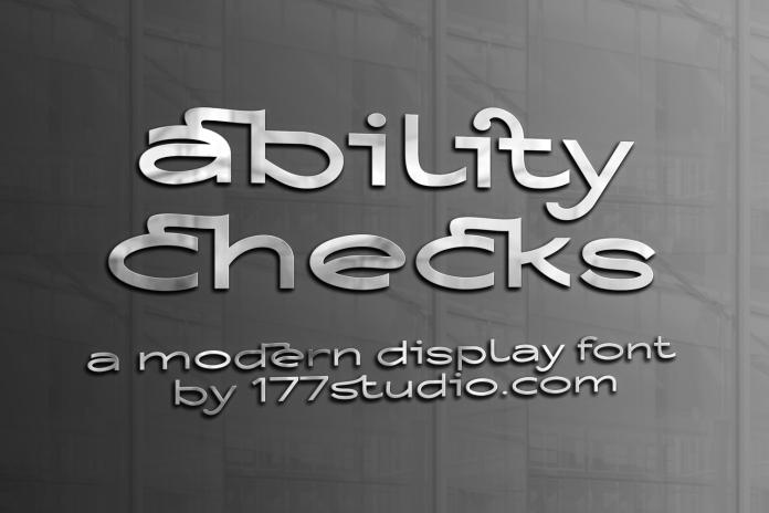 Ability Checks Font